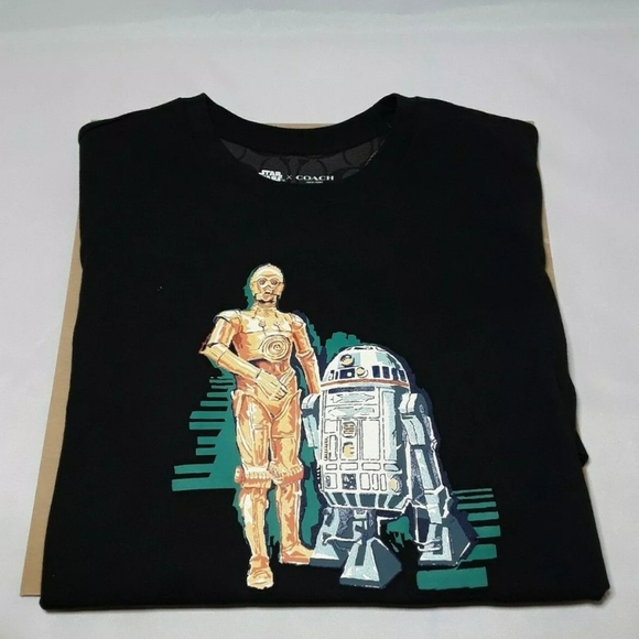 Star Wars T-shirt C3PO R2D2 Sizes age 3 years 11 years Official
